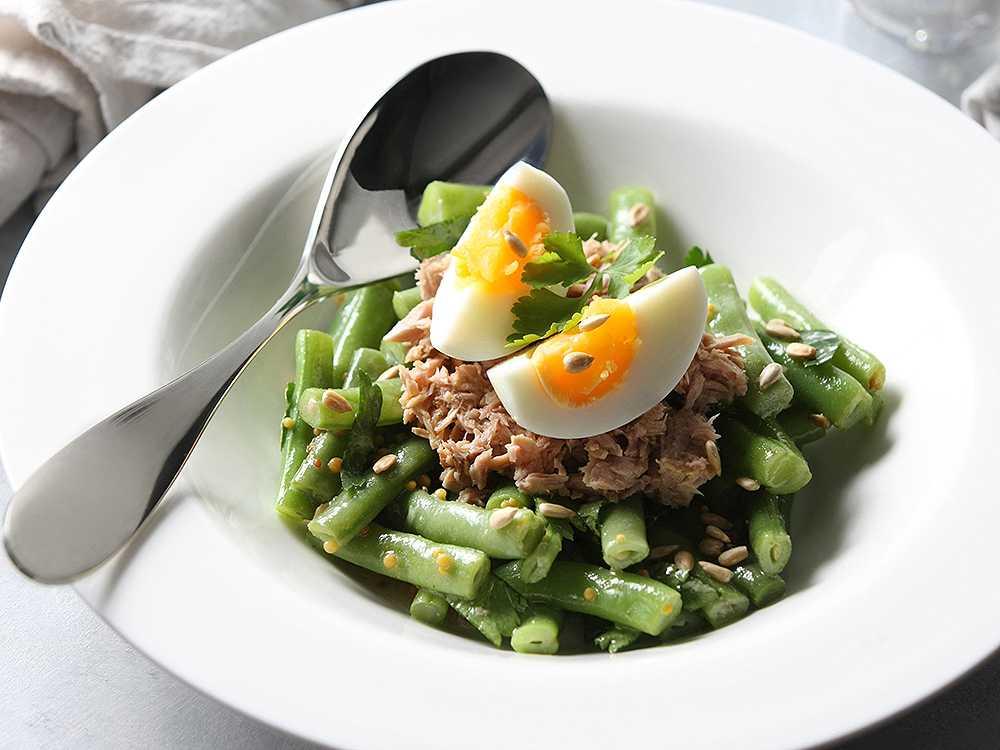 Салаты из стручковой фасоли - 15 простых и вкусных рецептов