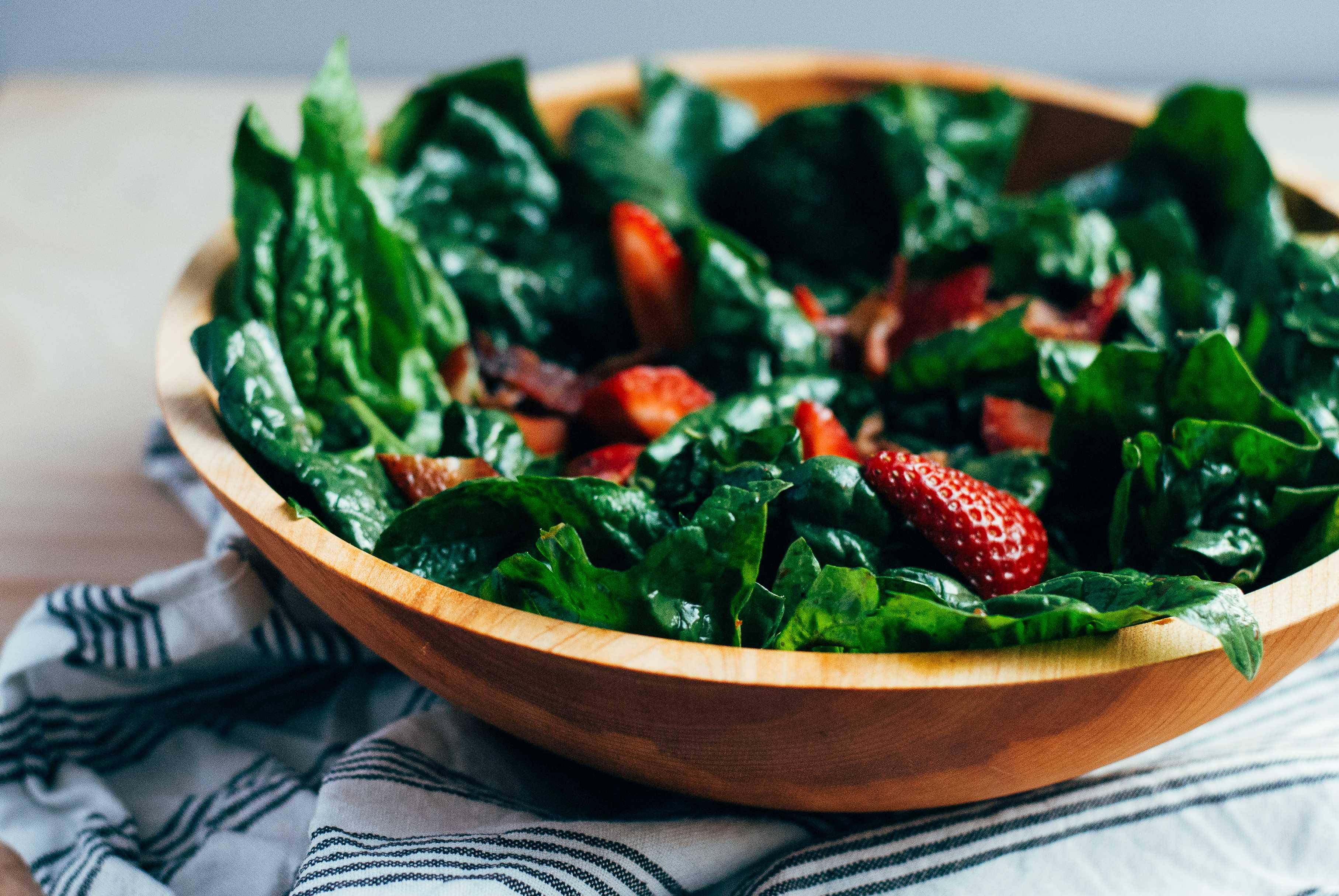 Салаты со шпинатом, 74 рецепта, фото-рецепты / готовим.ру