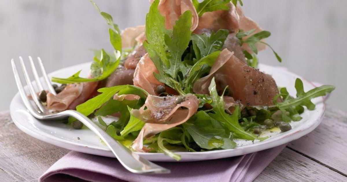 Салат венский рецепт с ветчиной и языком