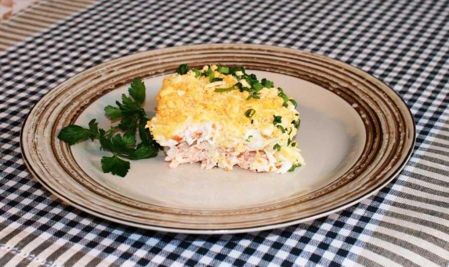 Салат из рыбных консервов — 120 домашних вкусных рецептов приготовления