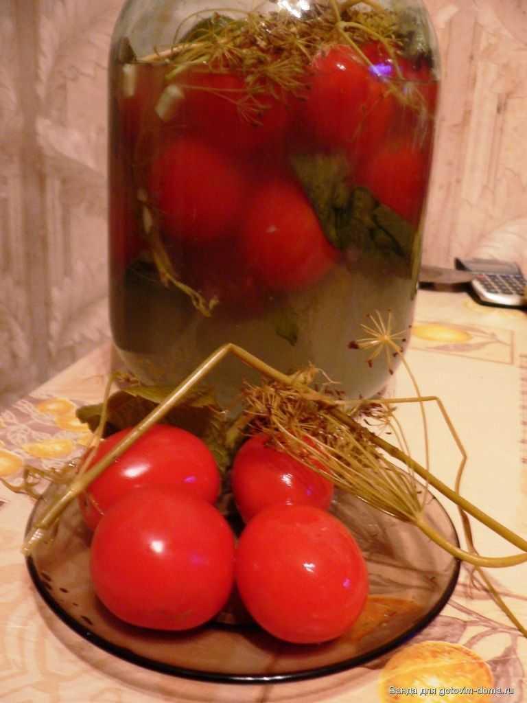 Маринованные помидоры на зиму в банках - ну очень вкусные!