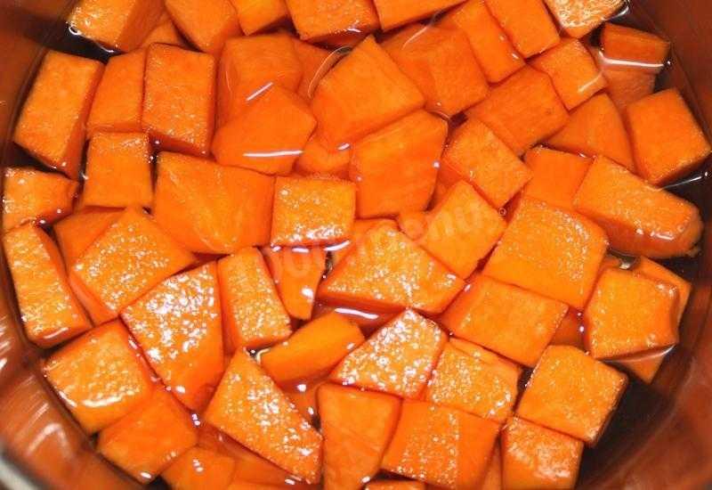 Компот из тыквы: рецепт натурального витаминного напитка