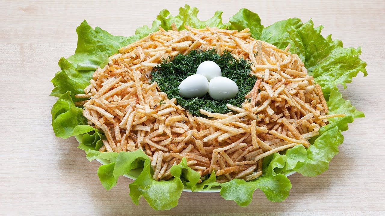 Комментарии к рецепту: салат «гнездо глухаря»