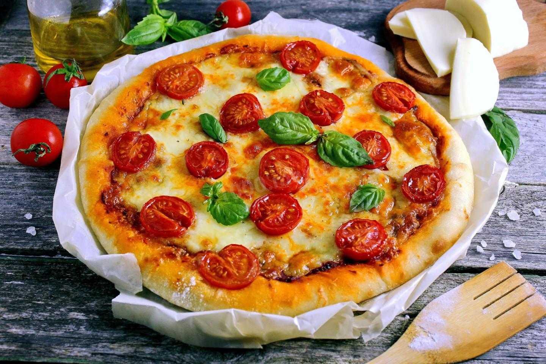 Пицца с опятами — lesnik