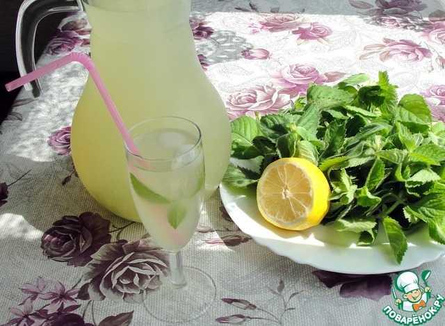 Лимонад мохито рецепт с фото пошагово - 1000.menu