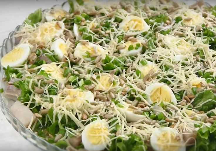 Салат из сельди по-датски