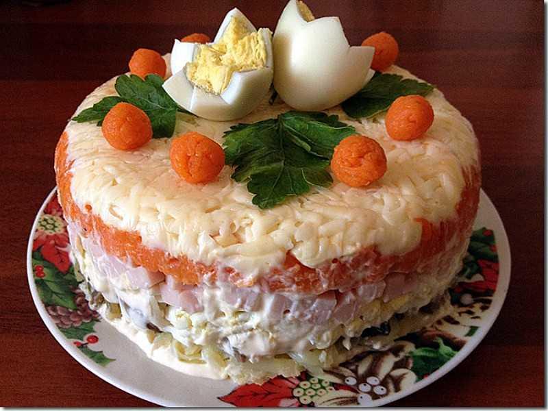 Салат по королевски рецепт с апельсином - рецепты на каждый день