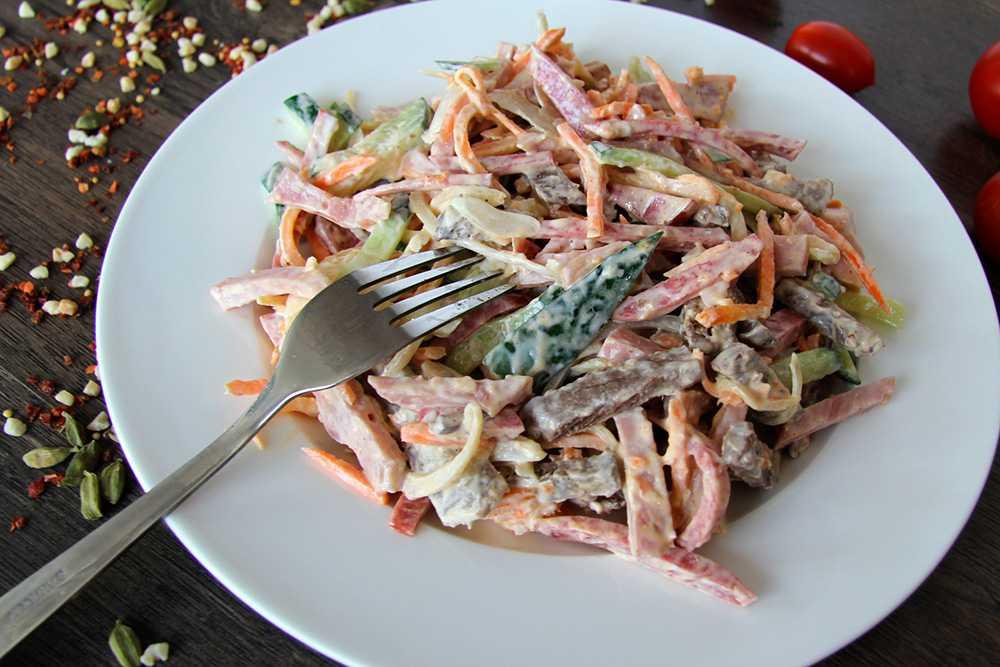 Салат из фунчозы с морковью по-корейски - готовим дома, рецепты с фото пошагово