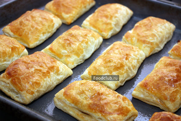 Пироги с опятами из слоеного и дрожжевого теста: фото, рецепты домашней грибной выпечки