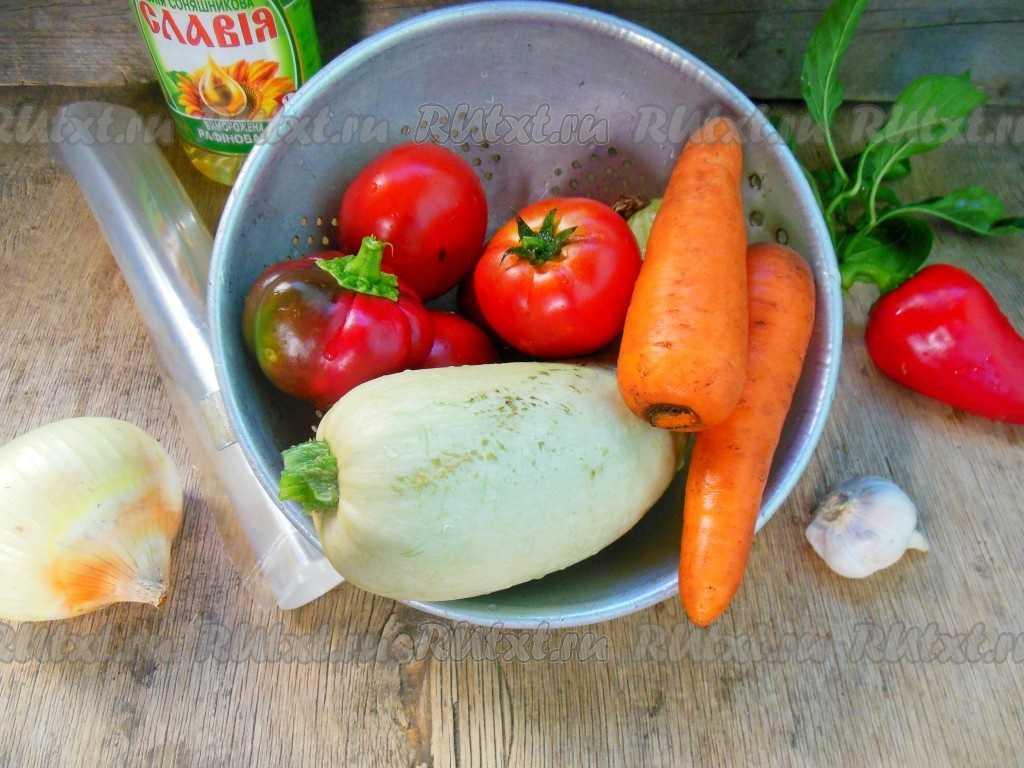 Кабачковая икра с перцем на зиму — пошаговый рецепт с фото