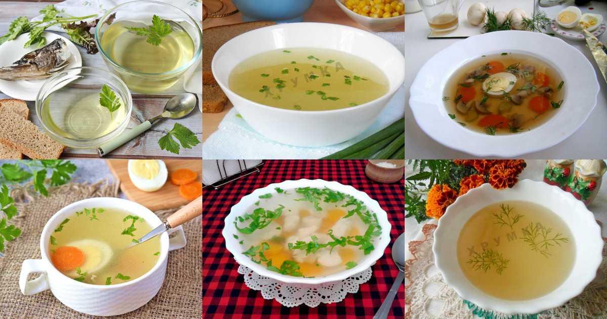 Грибной суп из соленых рыжиков