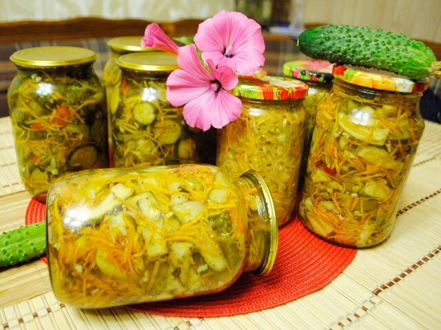 Огурцы по-корейски - лучшие рецепты восточного блюда быстрого приготовления