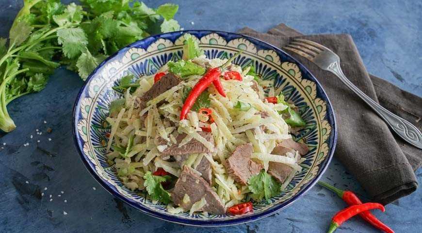 Салат ташкент – 5 вкусных рецептов - будет вкусно! - медиаплатформа миртесен