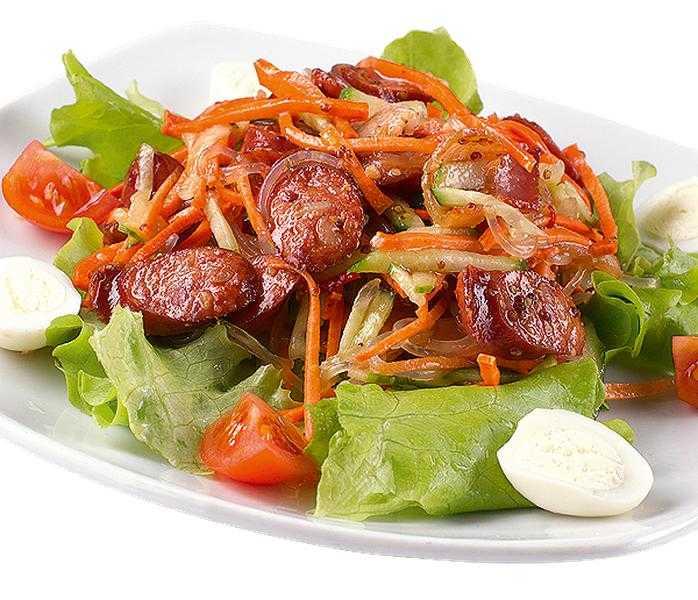 Охотничий салат: классический, рецепты и рекомендации к столу