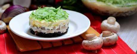 Салат «меркурий» — празднично и вкусно