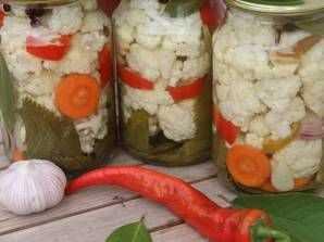 Цветная капуста в томате на зиму — 7 рецептов заготовки, пальчики оближешь!