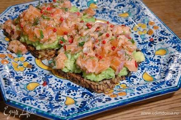 Рецепт тартара из лосося с фото, очень вкусный
