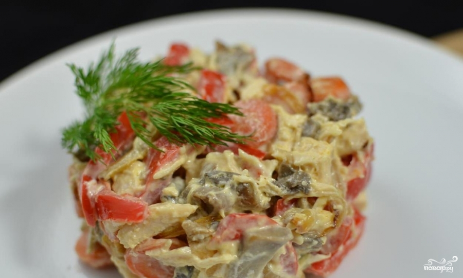 Салат с рукколой - 10 рецептов с фото и видео