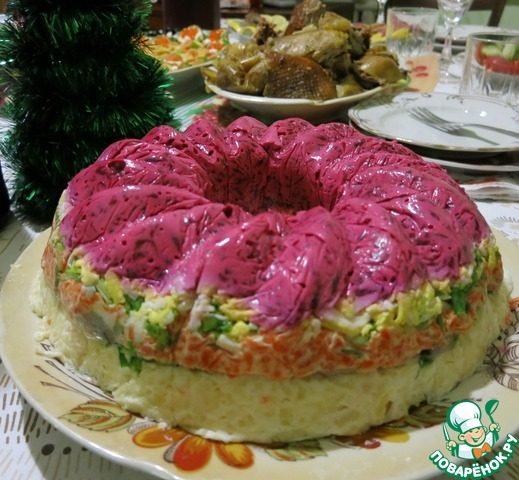 Салат графский со свеклой, картошкой и черносливом без мяса рецепт с фото пошагово - 1000.menu