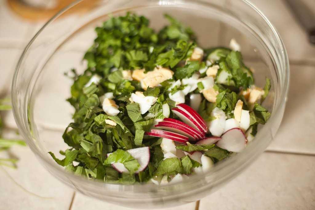 Рецепты салат из крапивы