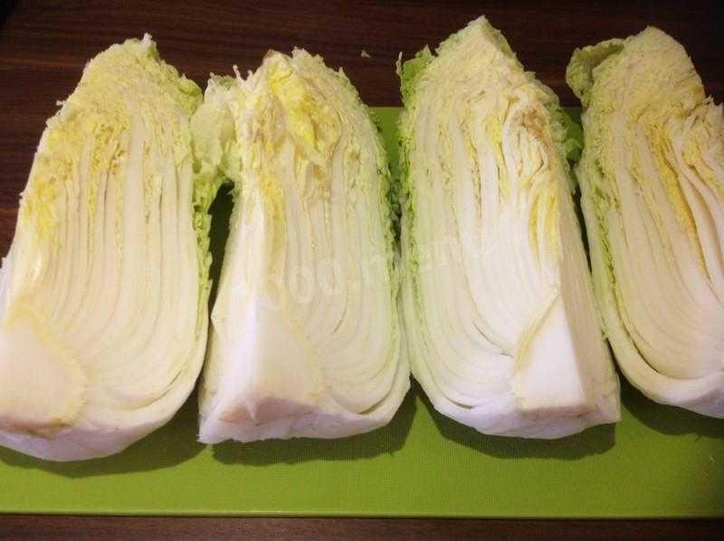 Пекинская капуста по корейски рецепт приготовления с фото