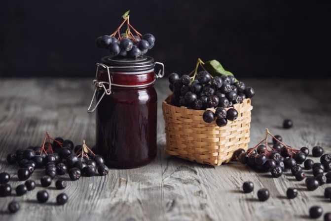Варенье из черноплодной рябины - разнообразие рецептов с фото