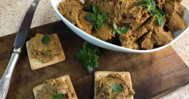 Грибной паштет из вешенок — 6 рецептов приготовления в домашних условиях