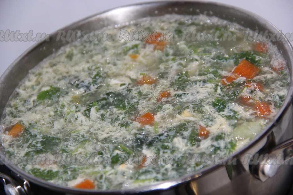 Супы с крапивой