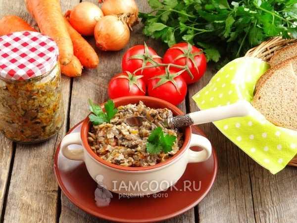 Грибная икра на зиму из вареных грибов — 5 рецептов приготовления