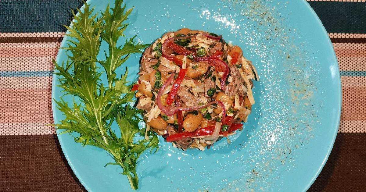 Грузинский салат: рецепты