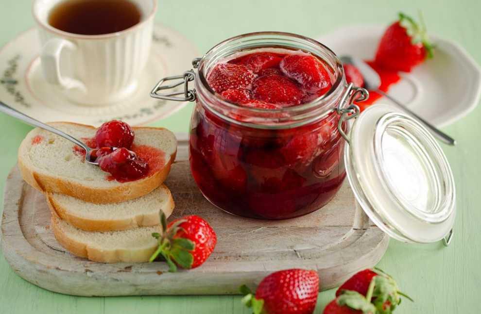 Варенье из клубники на зиму - рецепты густого клубничного варенья с целыми ягодами