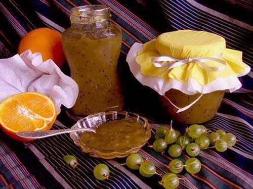 Джем из крыжовника с апельсином на зиму: 9 простых рецептов приготовления конфитюр