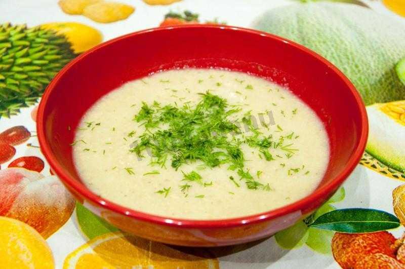 Суп-пюре – 30 лучших рецептов приготовления