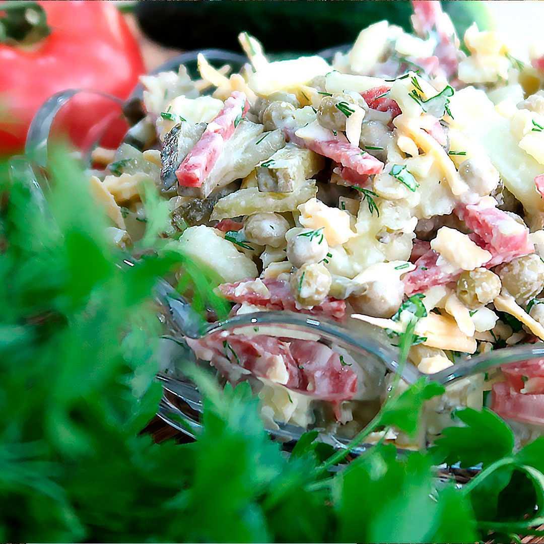 Салат охотничий на зиму | 3 рецепта приготовления