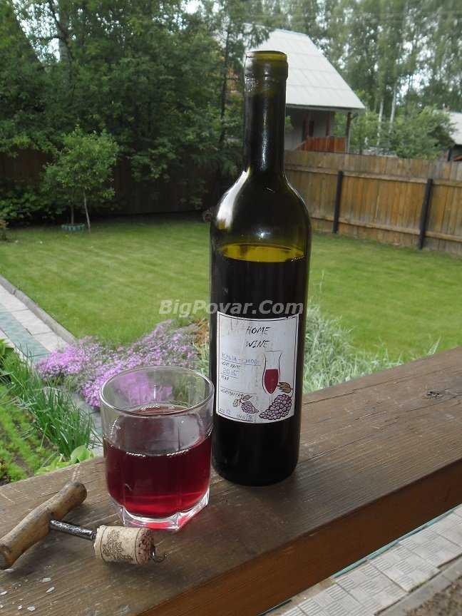 Вино в домашних условиях из варенья: простой рецепт