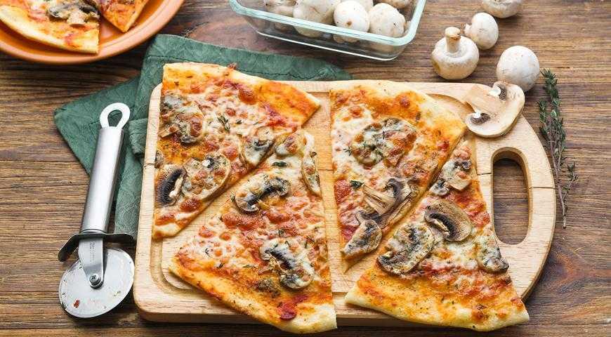 Пицца с белыми грибами: рецепты итальянского блюда в домашних условиях с фото