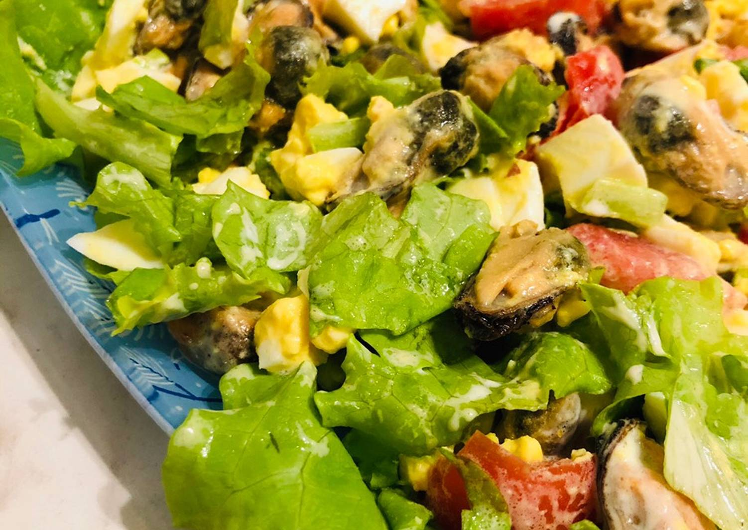 Салат с мидиями без яиц рецепт с фото - 1000.menu