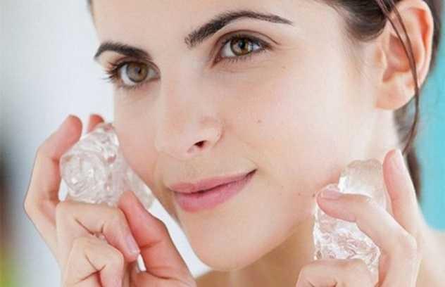 Лед для лица от морщин и для протирания кожи: польза