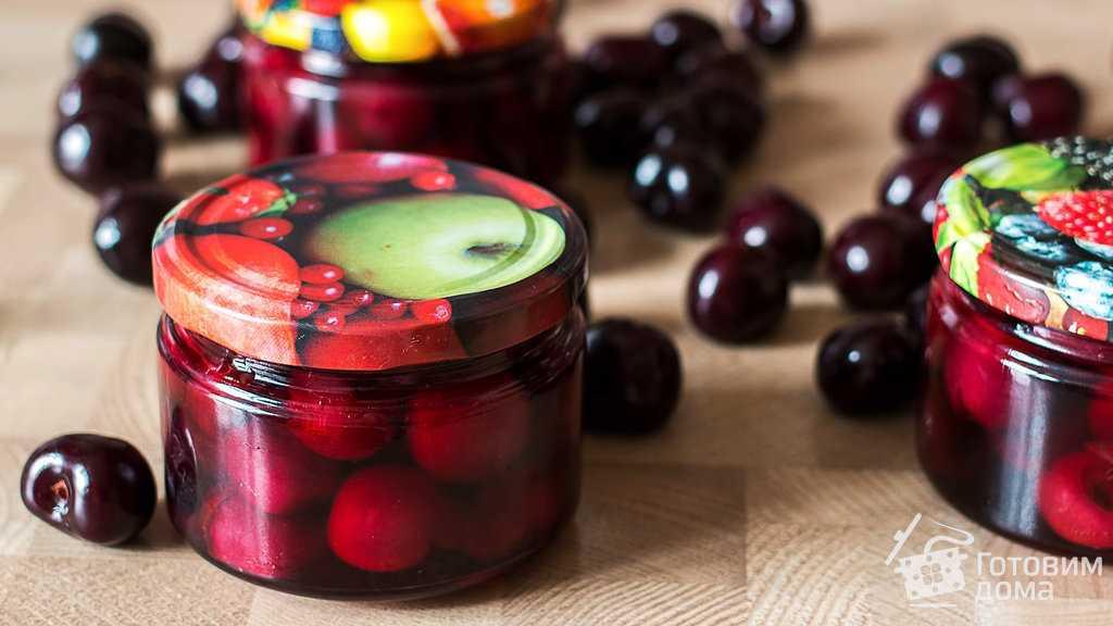 Как сварить сироп из вишни на зиму простые рецепт?