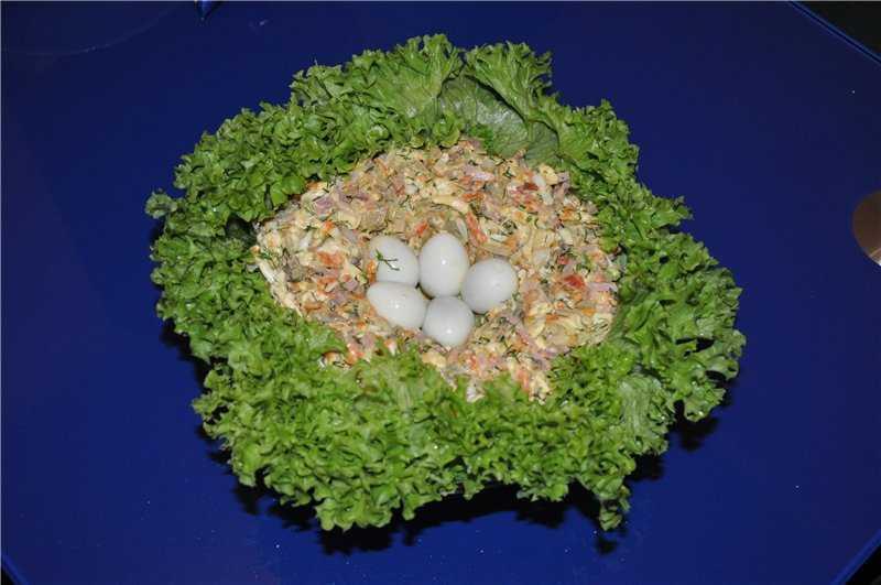 Салат перепелиное гнездо - лучший огород