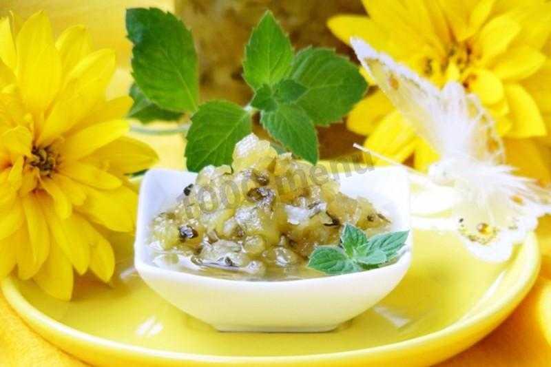 Варенье из мяты с лимоном - рецепт с фото и пошаговым описанием