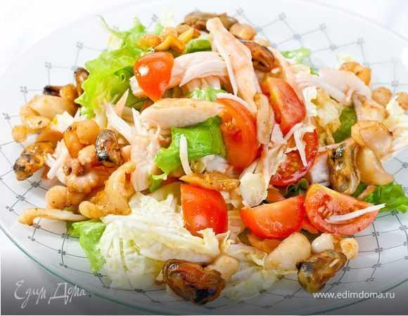 Салаты в креманках – простые и вкусные рецепты порционных салатов