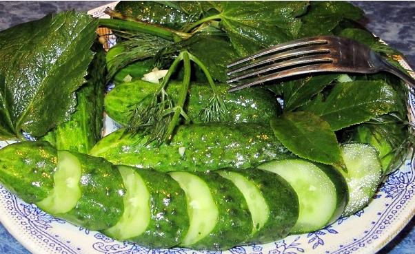 Хрустящие малосольные огурцы в пакете: быстрый рецепт за 5 минут с чесноком и укропом