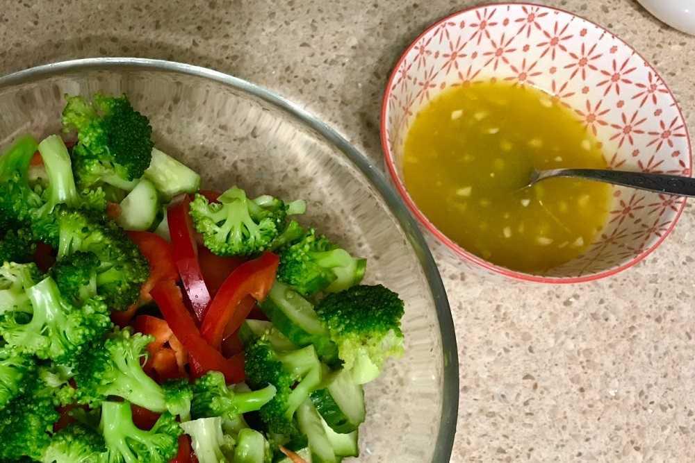 Заправка для винегрета: простые соусы для вкусного салата
