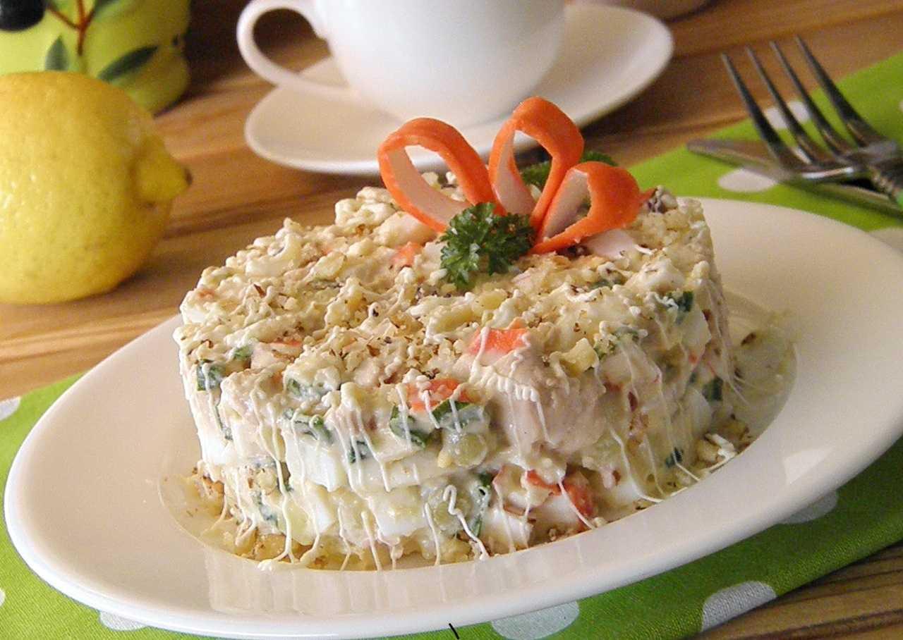 Вкусные салаты на день рождения