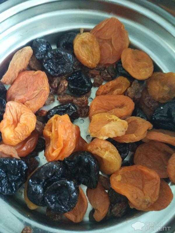 Курага, чернослив, изюм, орехи, мёд, лимон – рецепты полезных смесей