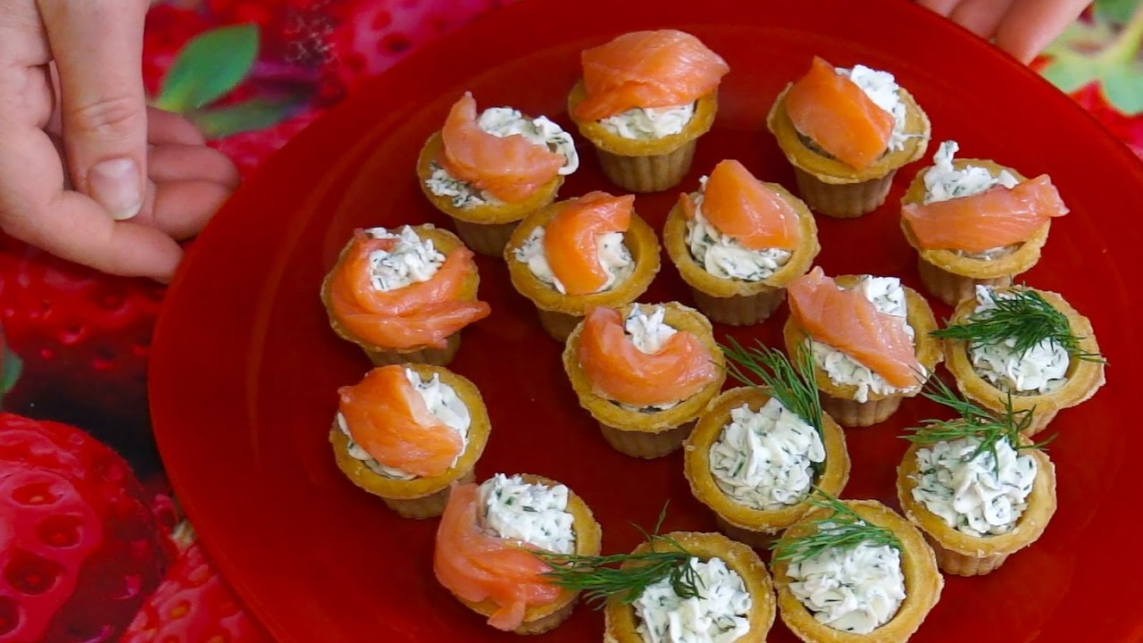 Рецепты салата в тарталетках на праздник