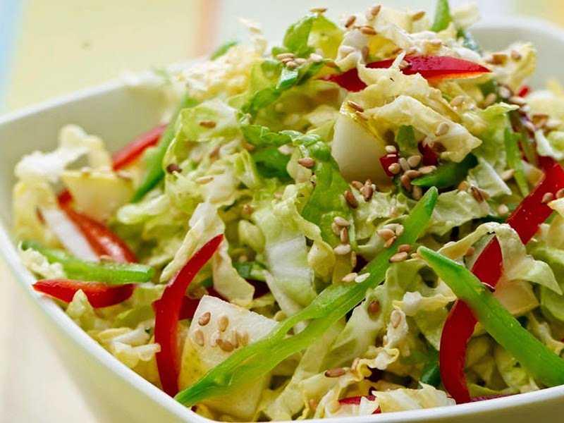 Легкий салат из пекинской капусты: 5 пп-рецептов с пошаговыми фото