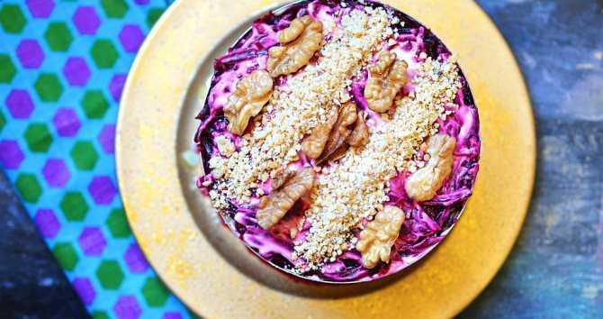 Салат любовница: очень вкусно, несколько вариантов приготовления
