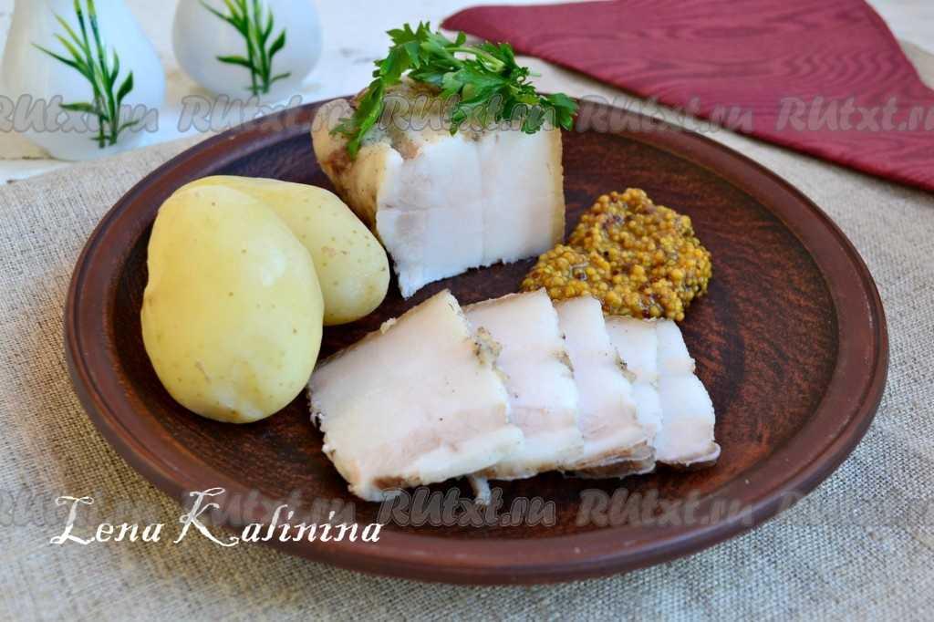 Вареное сало через мясорубку с чесноком рецепт. смалец — настоящий деликатес из простого продукта